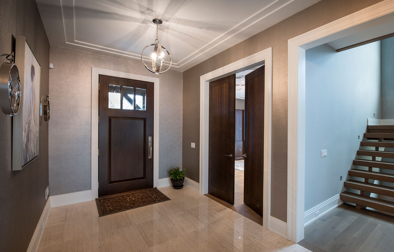 Glenview Transistional Front Doors