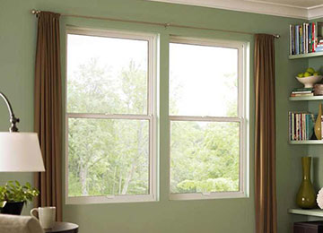 Marvin single hung windows